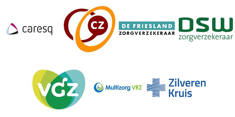 Verzekeraars logo's